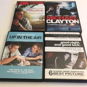 George Clooney DVD Movie Bundle